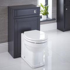 Bayswater Toiletkast MDF Antraciet 50cm x 81,5cm