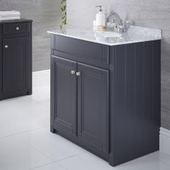 800mm Traditional Vanity Base Unit - Anthracite