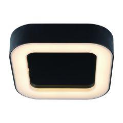Ambient Badkamer Plafondlamp Zwart 13W SMD LED IP54