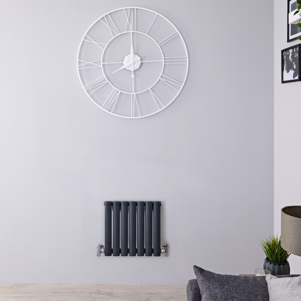 Revive Design Radiator Horizontaal Antraciet 40cm x 41,5cm x 5,6cm 284 Watt