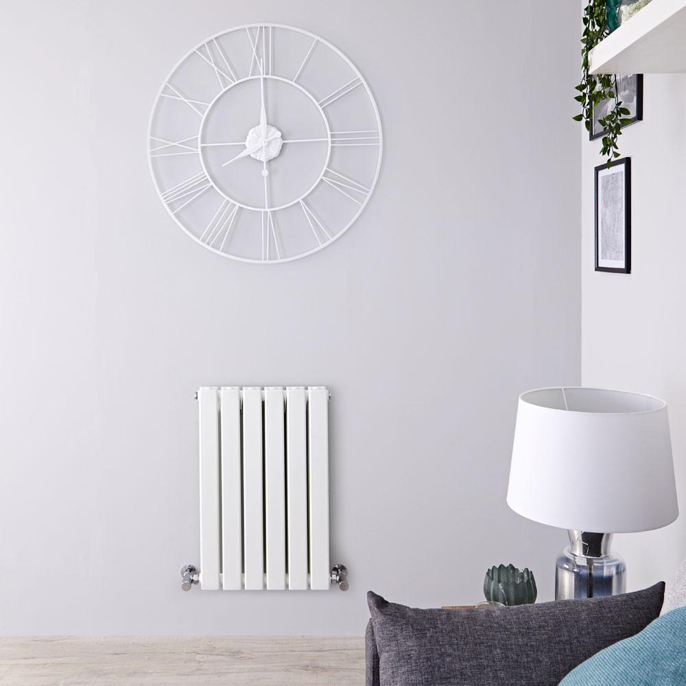 Delta Designradiator Horizontaal Wit 63,5cm x 42cm x 5,8cm 573 Watt