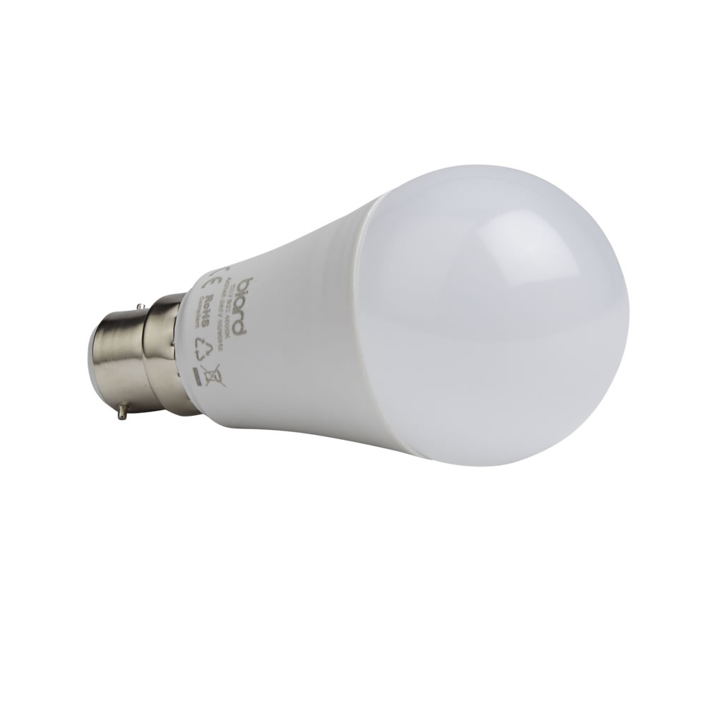 Biard 6 x LED Gloeilamp 12 W B22 Dimbaar