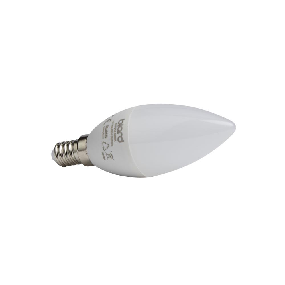 6 x 5W E14 Led Kaarslampen