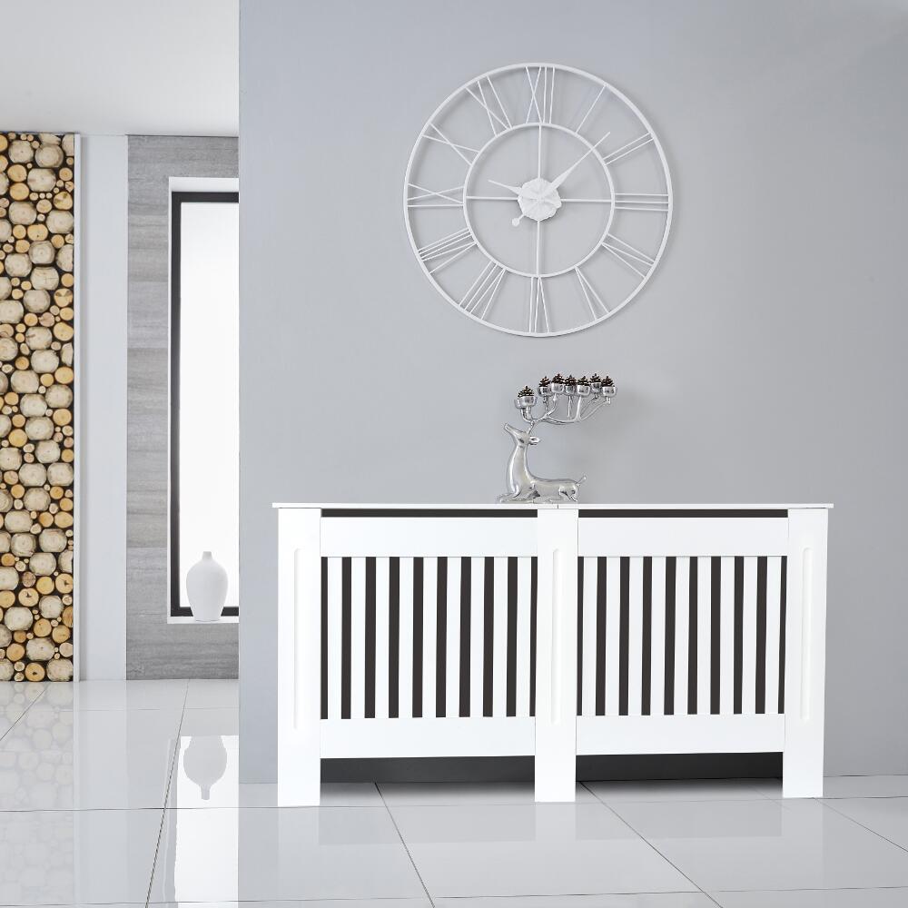 Newham Radiatorombouw Verticaal Wit 152  x 81,5  x 19 cm