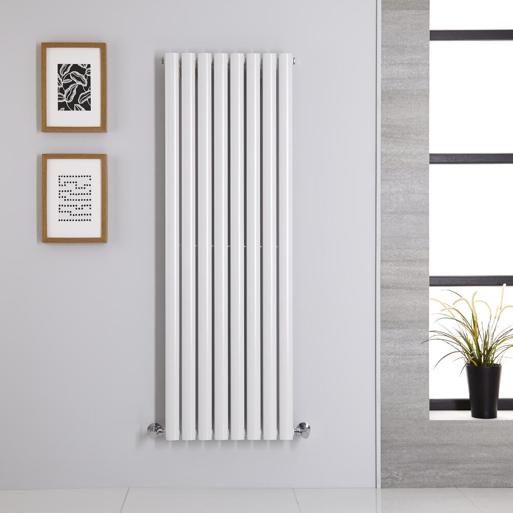 Revive Designradiator Verticaal Wit 140cm x 47,2cm x 5,6m 915Watt