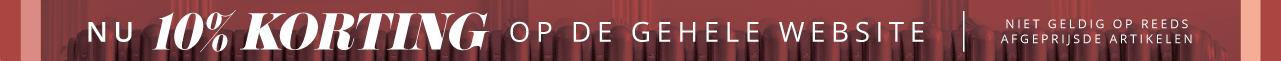 Nu 10% korting op de gehele website - alleen van toepassing op niet-afgeprijsde artikelen