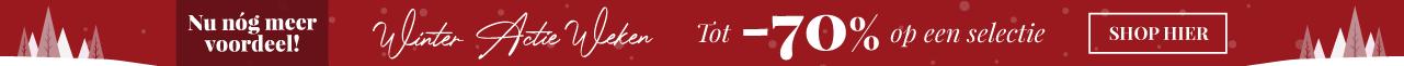 Winter Actie Weken Tot -70% op een selectie SHOP HIER