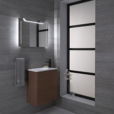 Alle badkamerspiegels met verlichting