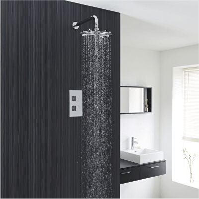 Alle 1-weg douchesystemen